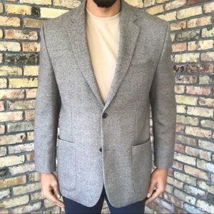 Ralph Ralph Lauren Cross Stitch Wool Blazer Coat